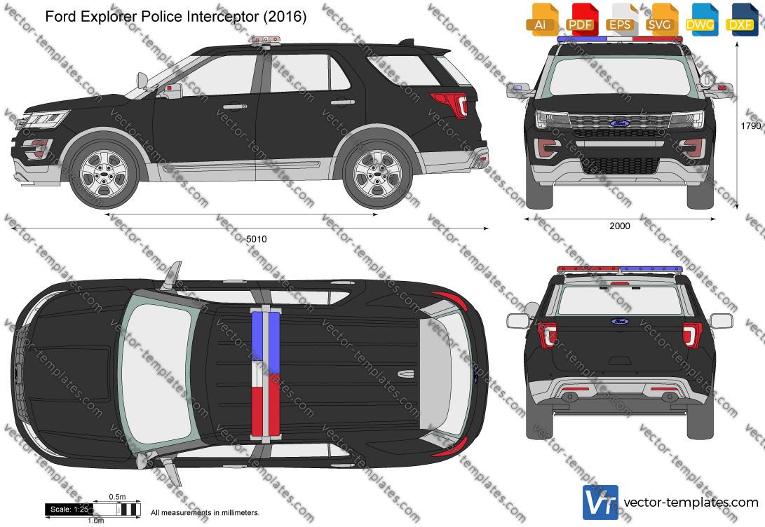 Ford Explorer Police Interceptor 2016
