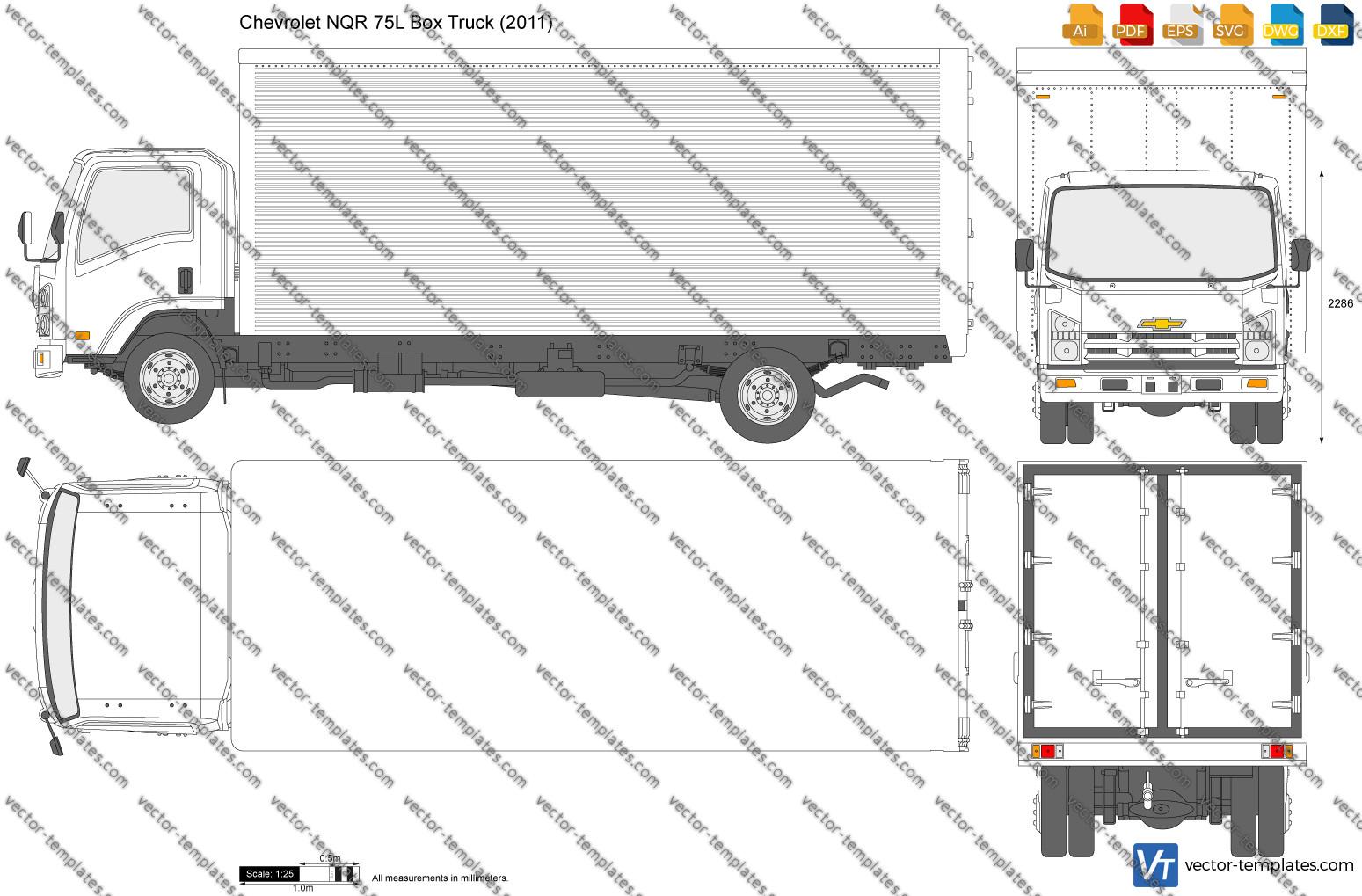 Chevrolet NQR 75L Box Truck 2011