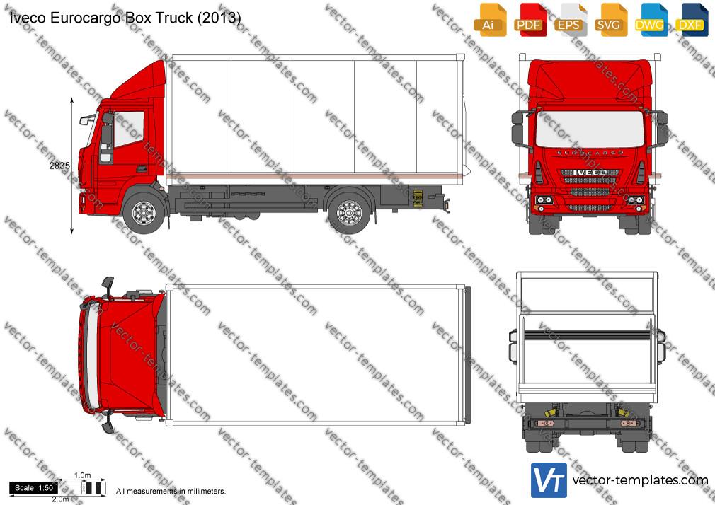 Iveco Eurocargo Box Truck 2013