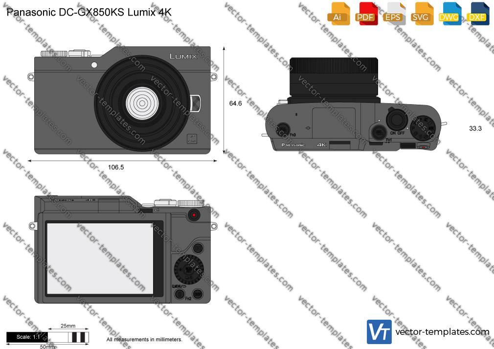 Panasonic DC-GX850KS Lumix 4K