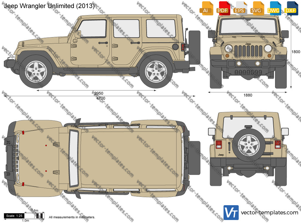 Jeep Wrangler Unlimited 5-Door JK 2013