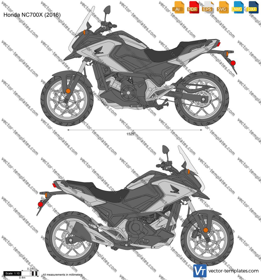 Honda NC700X 2016