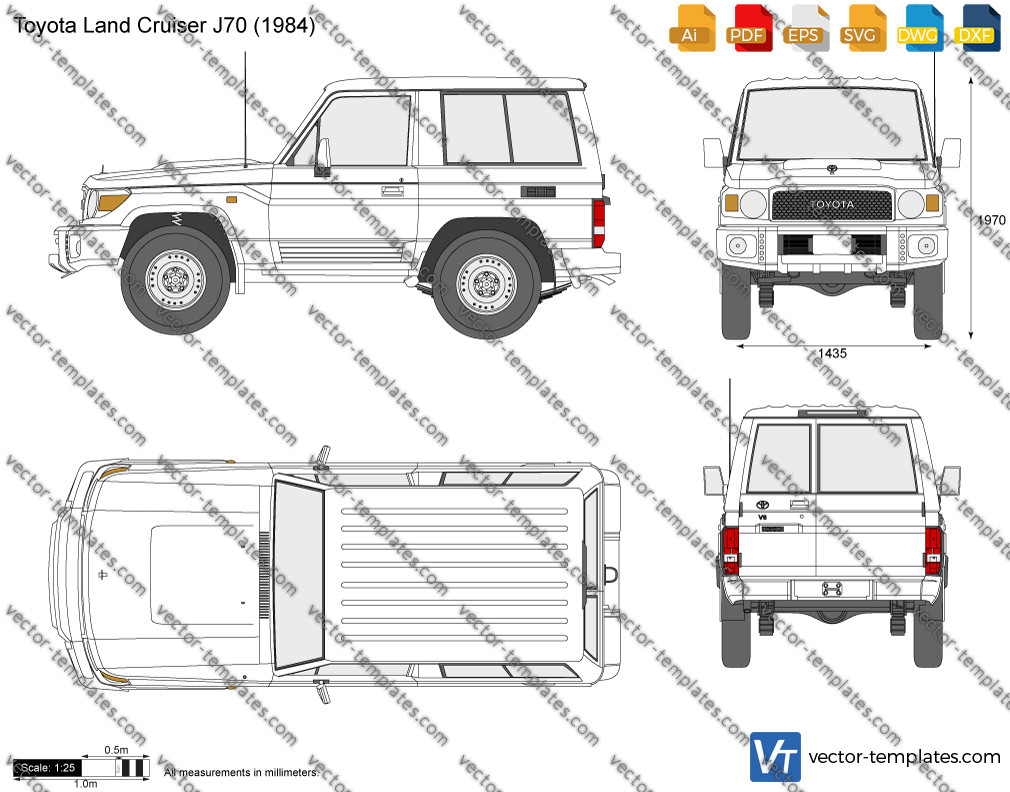 Toyota Land Cruiser J70 SWB 1984