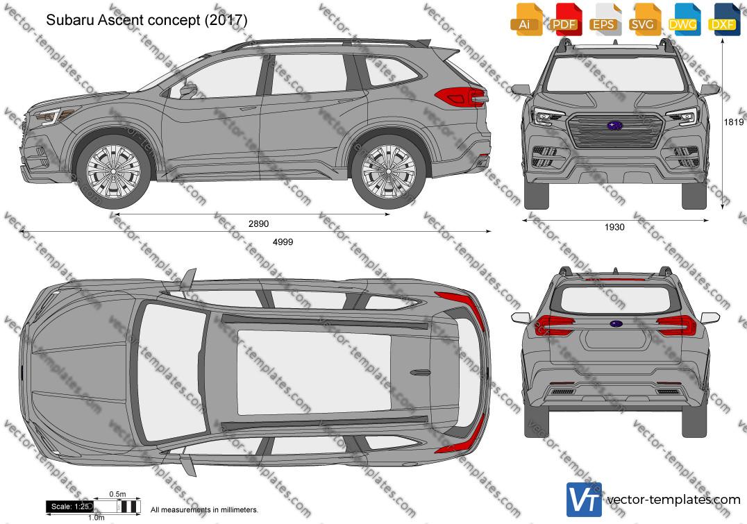Subaru Ascent concept 2017