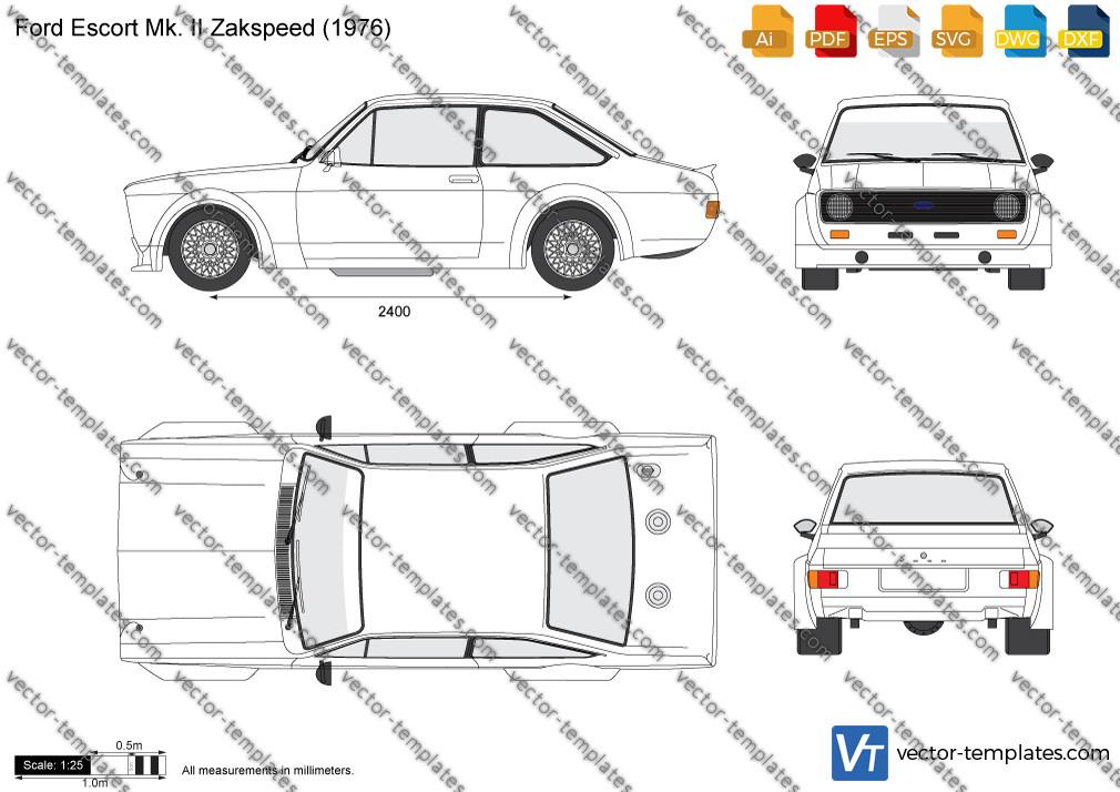 Ford Escort Mk. II Zakspeed 1976