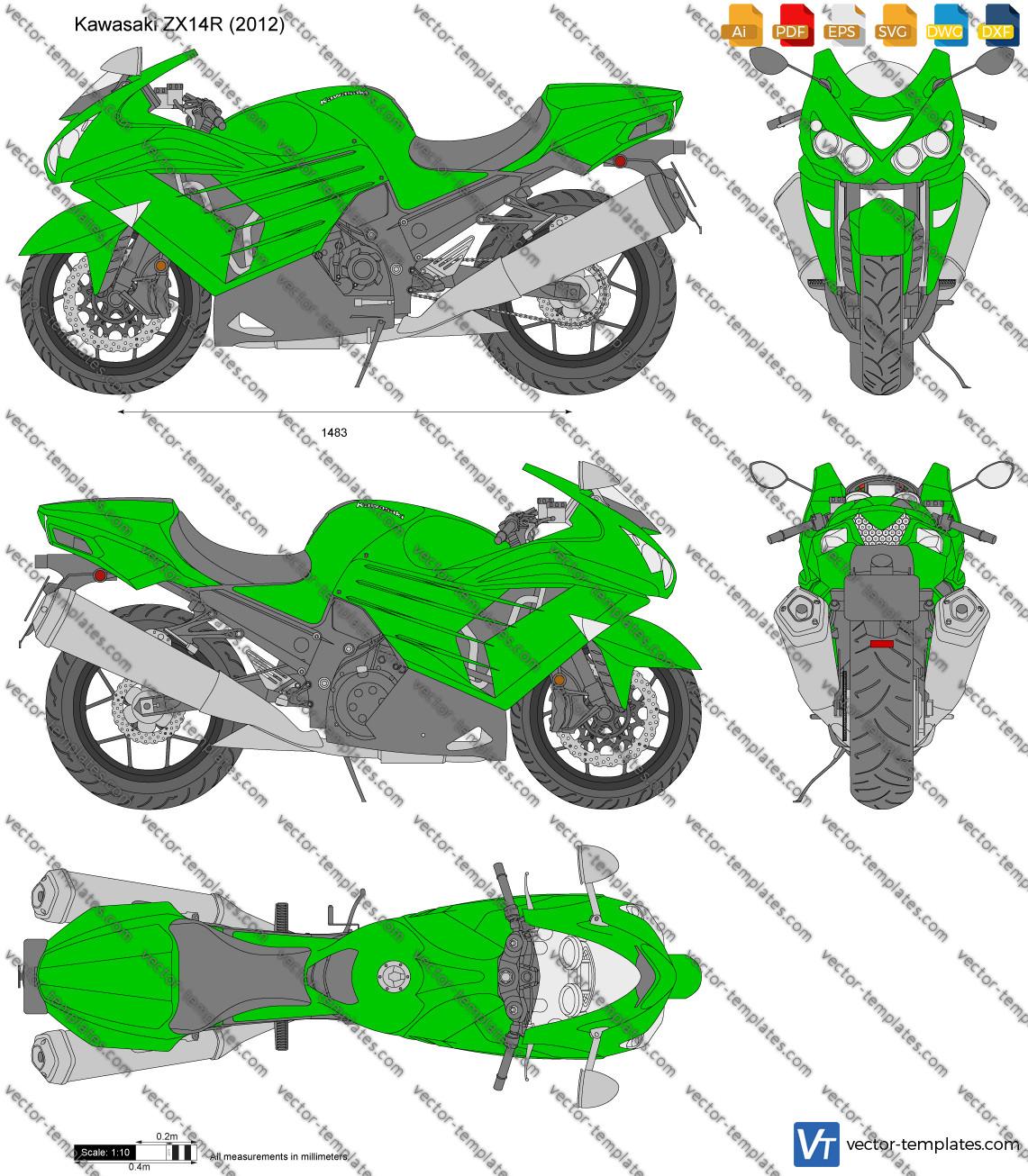 Kawasaki ZX14R 2012