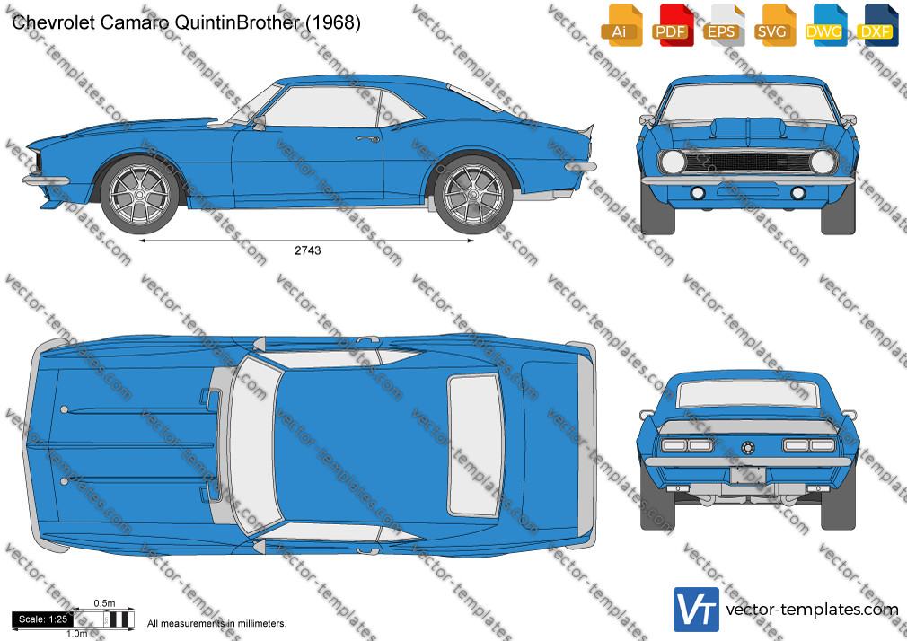 Chevrolet Camaro QuintinBrother 1968