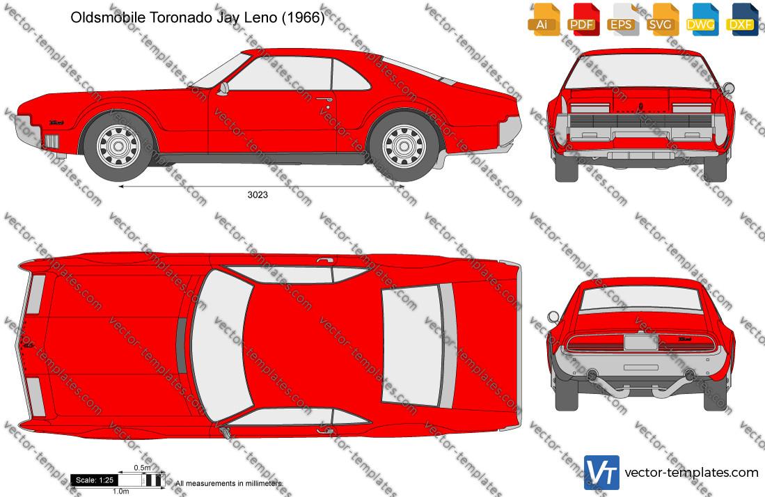 Oldsmobile Toronado Jay Leno 1966