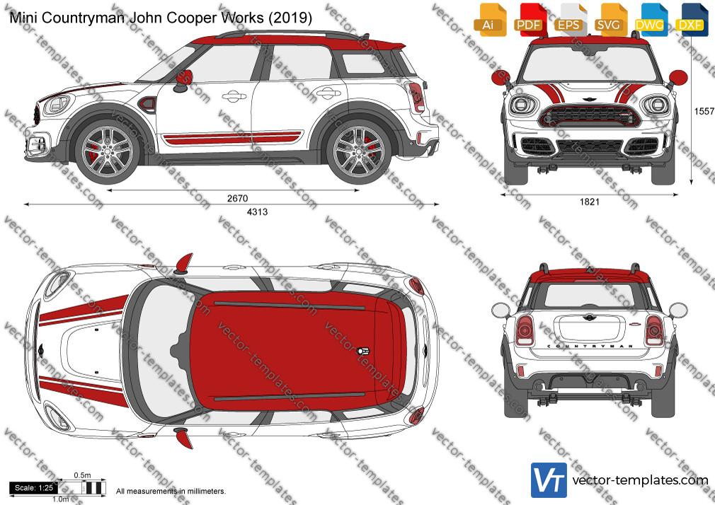 Mini Countryman John Cooper Works F60 2019
