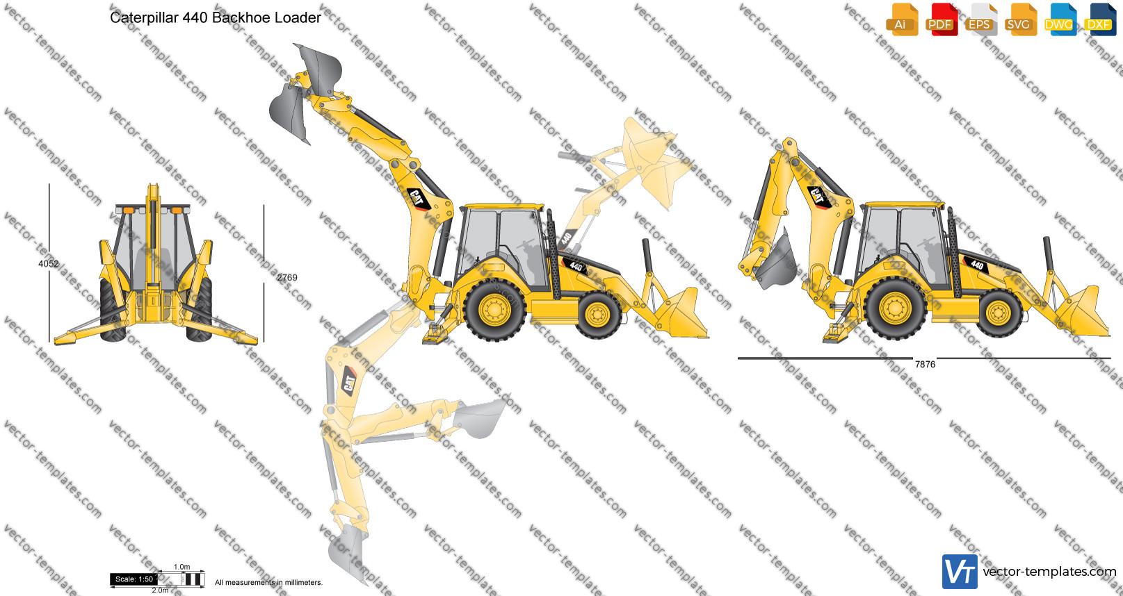 Caterpillar 440 Backhoe Loader