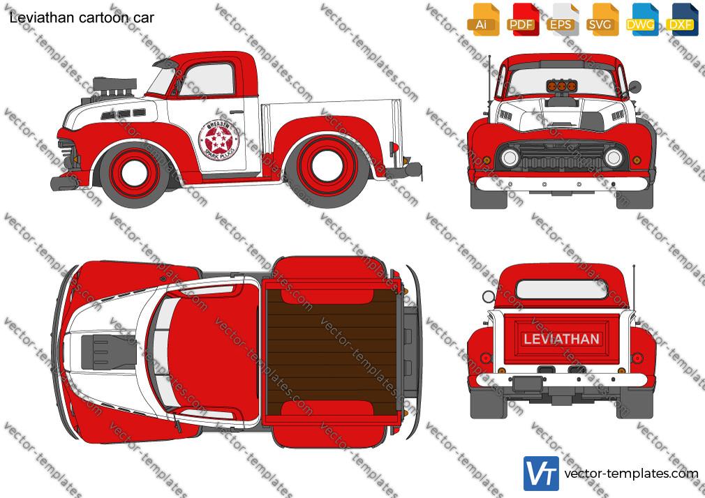 Leviathan cartoon car