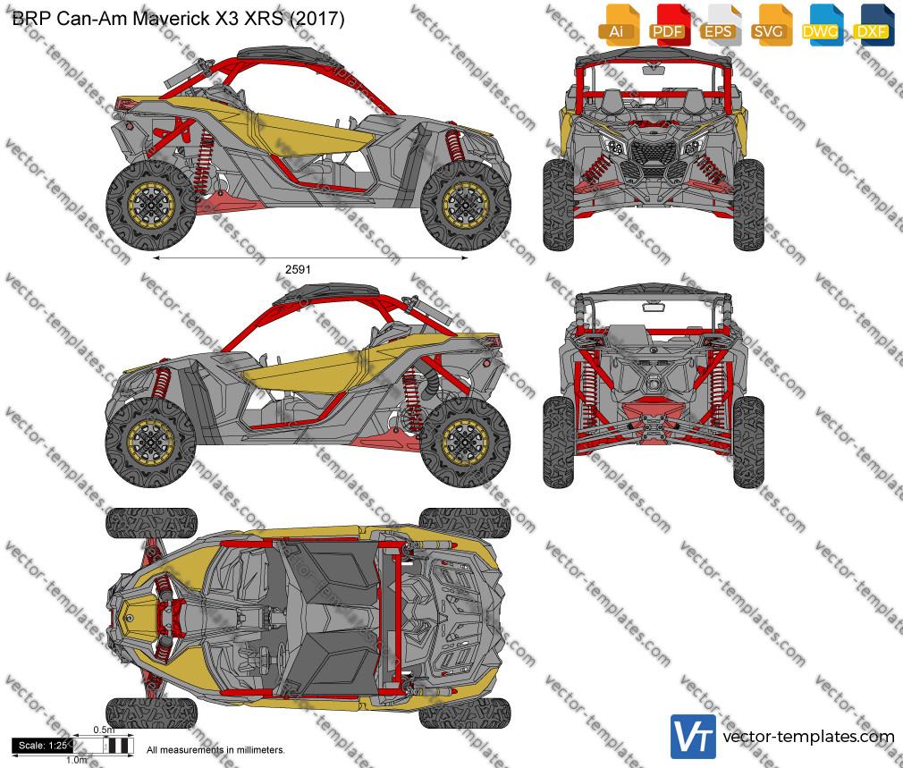 BRP Can-Am Maverick X3 XRS 2017