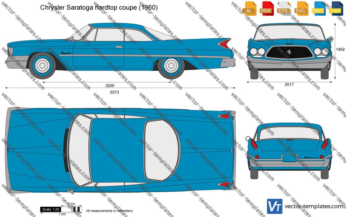 Chrysler Saratoga hardtop coupe 1960