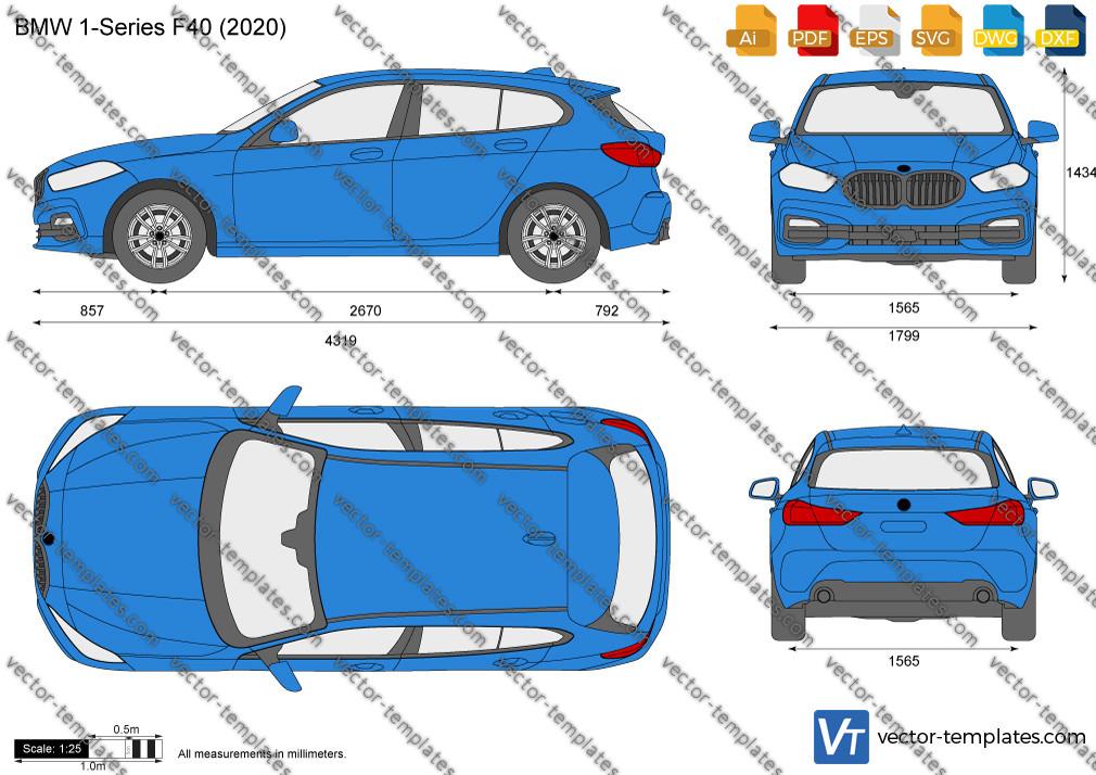 BMW 1-Series F40 2020