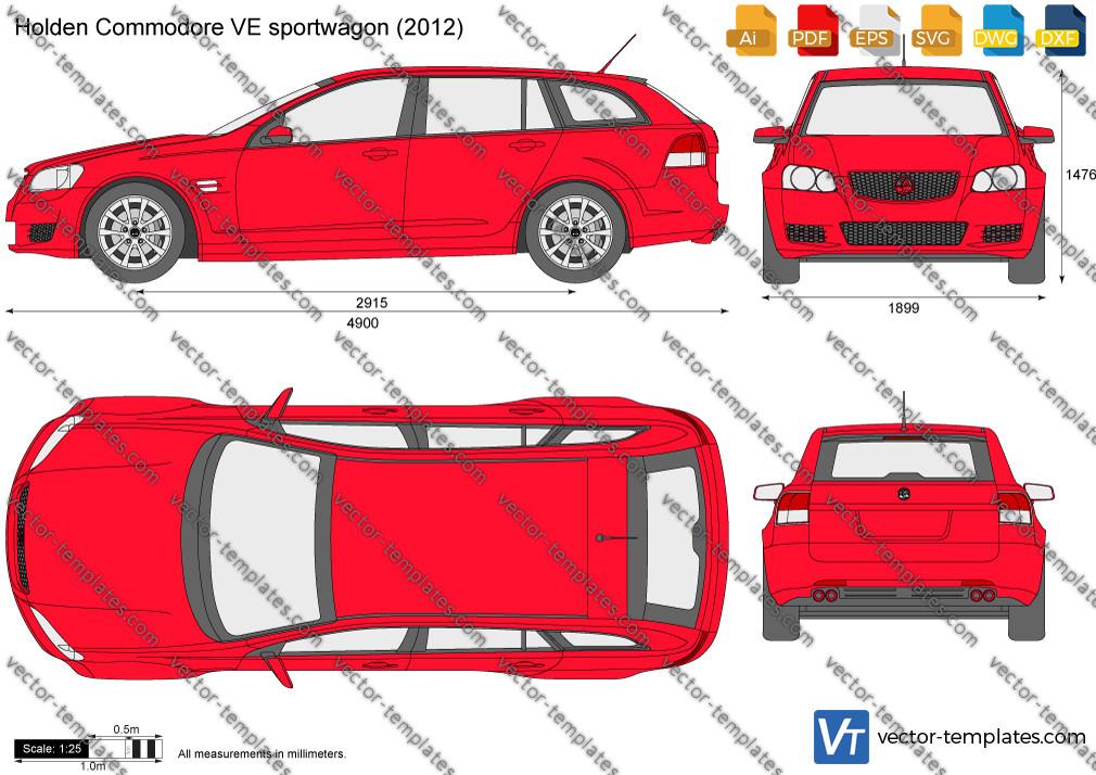 Holden Commodore VE sportwagon 2012