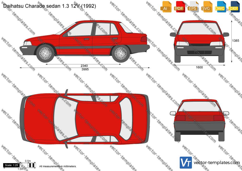 Daihatsu Charade sedan 1.3 12V 1992