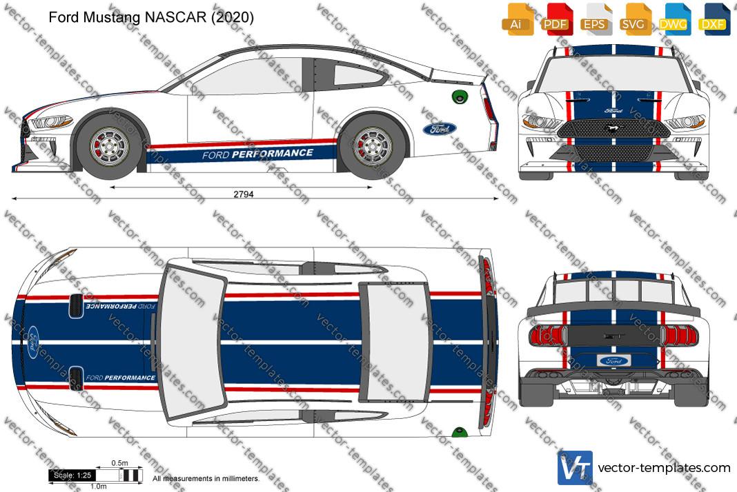Ford Mustang NASCAR 2020