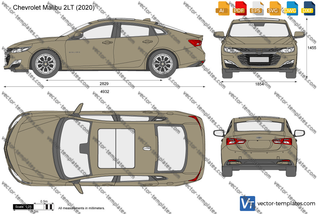 Chevrolet Malibu 2LT 2020