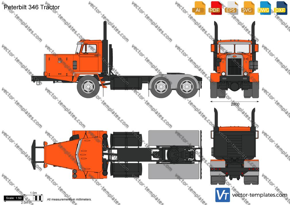 Peterbilt 346 Tractor