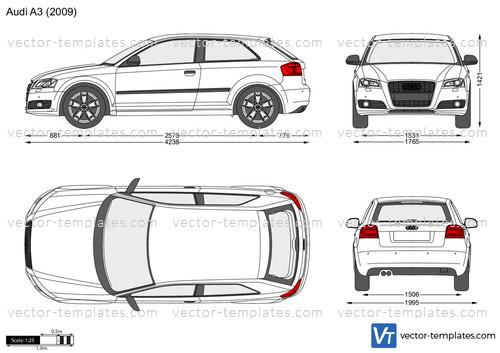 templates - cars - audi
