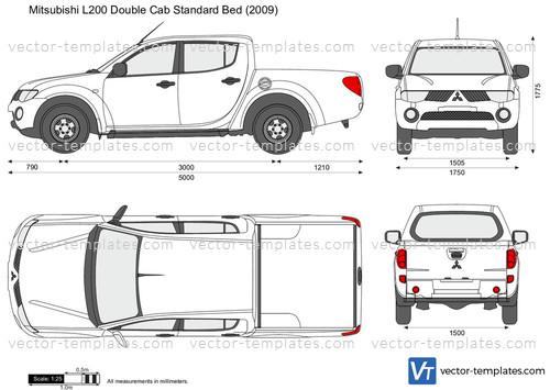 Mitsubishi L200 Double Cab Standard Bed