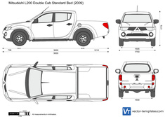 Mitsubishi L200 Double Cab Standard Bed