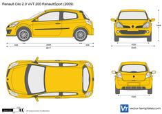 Renault Clio 2.0 VVT 200 RenaultSport