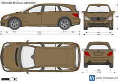 Mercedes-Benz R-Class LWB W251