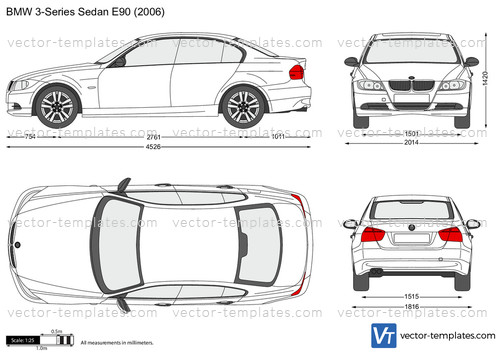 Templates Cars Bmw Bmw 3 Series Sedan E90