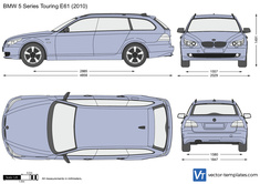 BMW 5-Series Touring E61