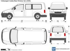 Volkswagen Caddy Maxi Window Van