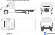 Volkswagen Crafter Chassis Cab Dropside MWB