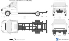 Volkswagen Crafter Chassis Cab LWB