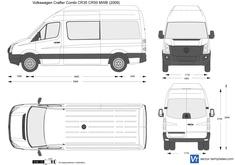 Volkswagen Crafter Combi CR35 CR50 MWB