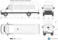 Volkswagen Crafter CR35 CR50 Panel Van LWB Maxi High