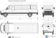 Volkswagen Crafter Window Van LWB
