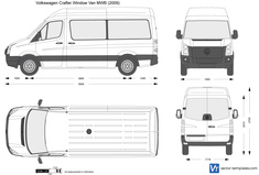 Volkswagen Crafter Window Van MWB