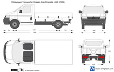 Volkswagen Transporter T5 Chassis Cab Dropside LWB