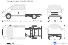Volkswagen Transporter T5 Double Cab LWB