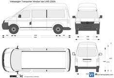 Volkswagen Transporter Window Van LWB