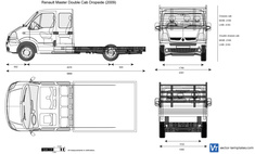 Renault Master Double Cab Dropside