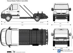 Renault Master Platform Cab