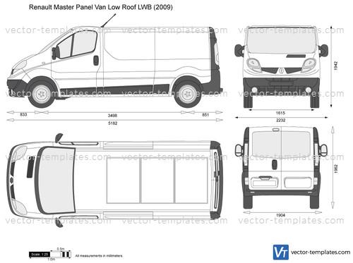 Renault Trafic Panel Van Low Roof LWB
