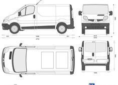 Renault Trafic Panel Van Low Roof SWB