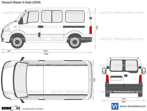Renault Master 6-Seat