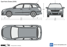 Opel Astra H Estate