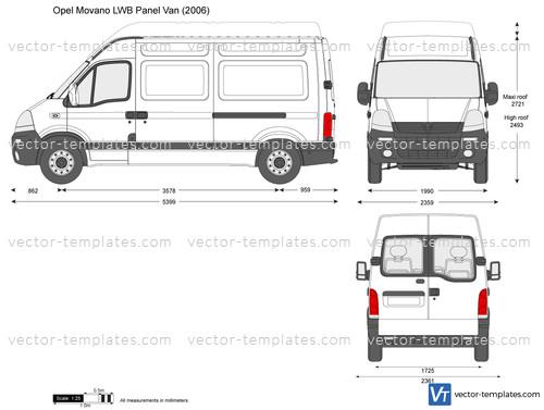 Opel Movano LWB Panel Van