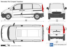 Mercedes-Benz Vito Compact Traveliner