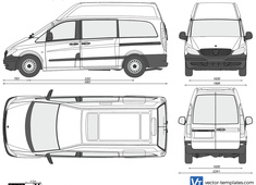 Mercedes-Benz Vito Long Hi Roof Dualiner