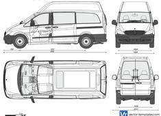 Mercedes-Benz Vito Long High Roof Van